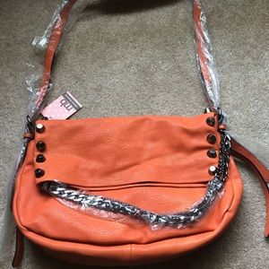 Bright orange Melie Bianco Bag!!!